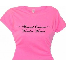 Breast Cancer Warrior Woman Walk for the Cure T-Shirt